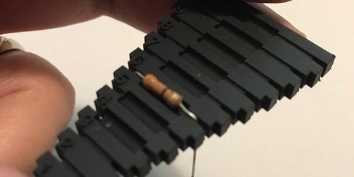 Bending Resistors